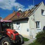 Bourání střechy a krovů - výstavba nového podkroví